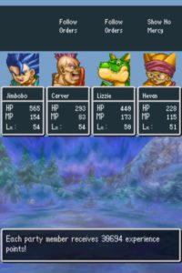 Dragon Quest VI Experience and Rare Item Farming Guide (DS