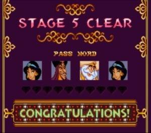 Aladdin (SNES) Passwords   RetroMaggedon Classic Gaming